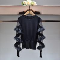 WV03332 Best Buy New Season Women Sweaters 2018 Popular Brand Fashion Design Women Dresses Sexy Style