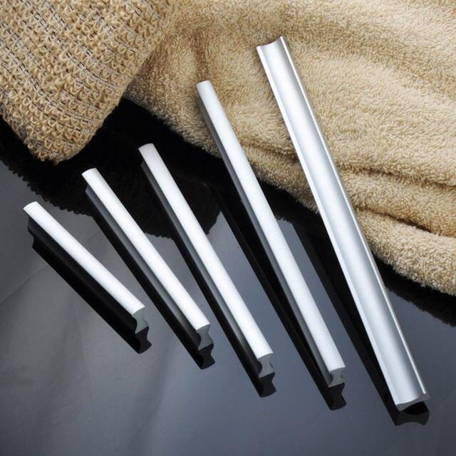 Online-Shop Sorgfältige Aluminium schrank griffe küche knob tür pull ...