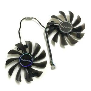 Image 1 - 2 יח\סט וידאו כרטיסי מאוורר GTX1070/1080 GPU Cooler עבור KFA2 GTX1070 Ti EX GTX 1080/1070 EXOC גרפיקה כרטיס קירור כתחליף