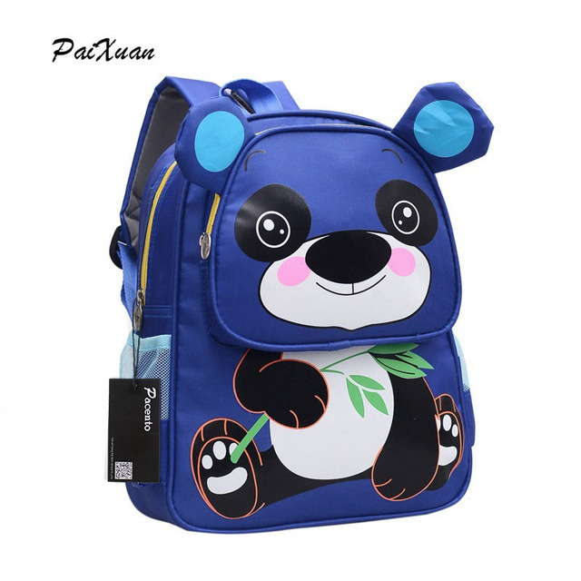 4ef5306017c 12 Inch Kids Backpacks Kindergarten School Bag Cute Cartoon Bear Boys and  Girls Lovely Children Backpack