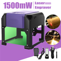 80x80mm Engraving Range 1500mW USB Desktop Laser Engraver Machine DIY Logo Mark Printer Cutter CNC Laser