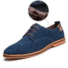 Herren Freizeitschuhe 2016 Neue Mode Komfortable Flache Männer Schuhe Lace-up Solide Winter Männer Kausalen Schuhe Hot verkauf ET001