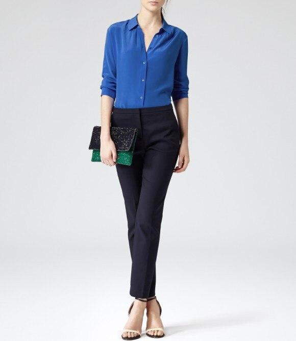 Royal Blue Blouse Womens Breeze Clothing