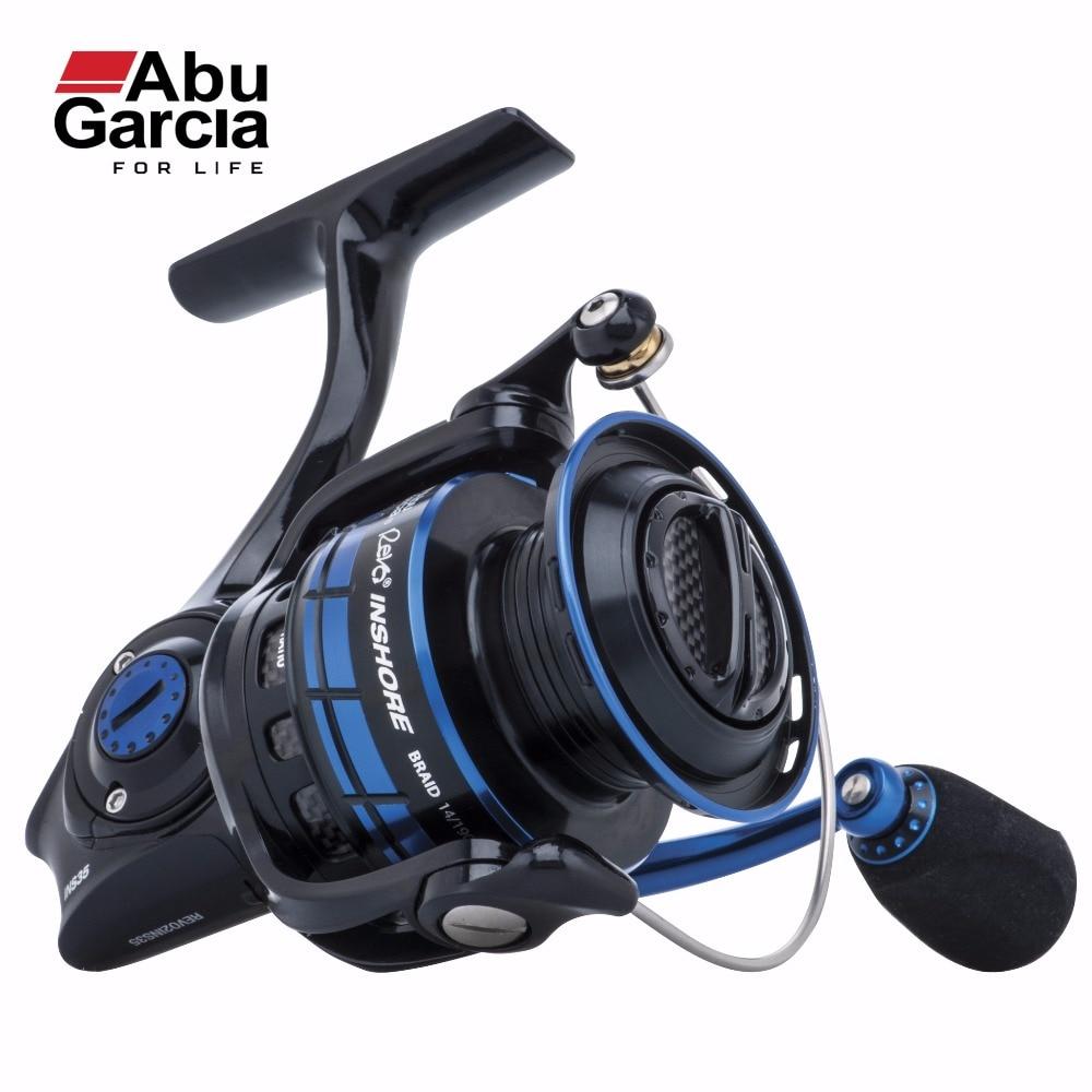 2017 New Abu Garcia 100% Original REVO INSHORE Spinning Fishing Reel 3000-6000 Front-Drag Fishing Reel 6+1BB 6.2:1 2017 new abu garcia 100