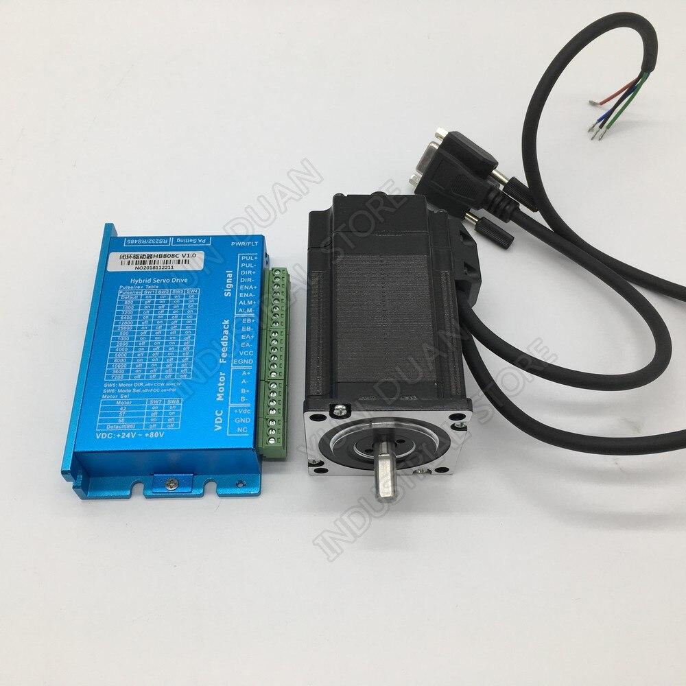 Nema17 42MM 0 68Nm 68Ncm 100Oz in 8mm Shaft Closed Loop Stepper Motor Driver Hybird Encoder