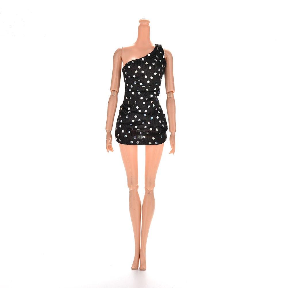 1pcs hot sale doll black 12cm elegant trendy party wedding for Barbie wedding dresses for sale