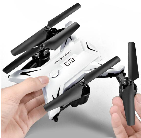 JD601S 6-Axis Foldable RC Quadcopter Drone with High Hold HD Camera and One Key Fly Function