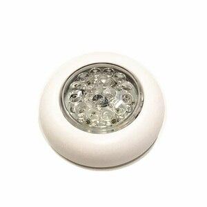 Image 2 - 12 V Marine Boot LED Taste Licht RV Motor Home Upstair Decke Dome Lampe Wohnmobil Zubehör