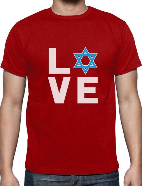 Jewish Love Star Of David Tee Shirt