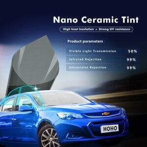 50%VLT 2PLY Grey Car Sun Shade