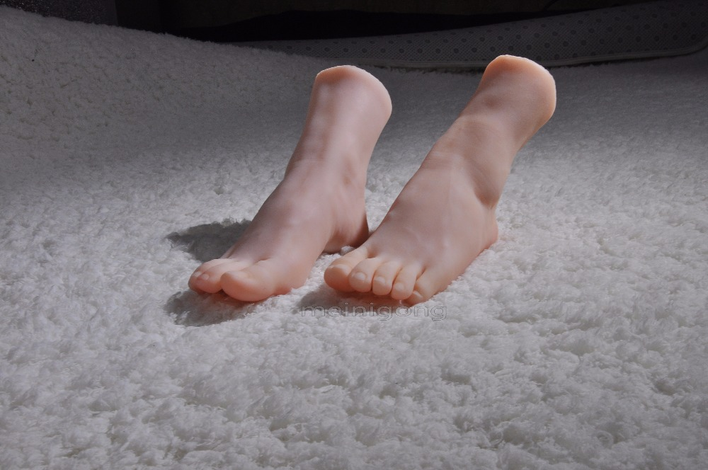 Top Quality Sex Doll Silicon Women Foot Fetish, Realistic Silicone Mannequins Feet Model, Young Girl Fake FeetTop Quality Sex Doll Silicon Women Foot Fetish, Realistic Silicone Mannequins Feet Model, Young Girl Fake Feet