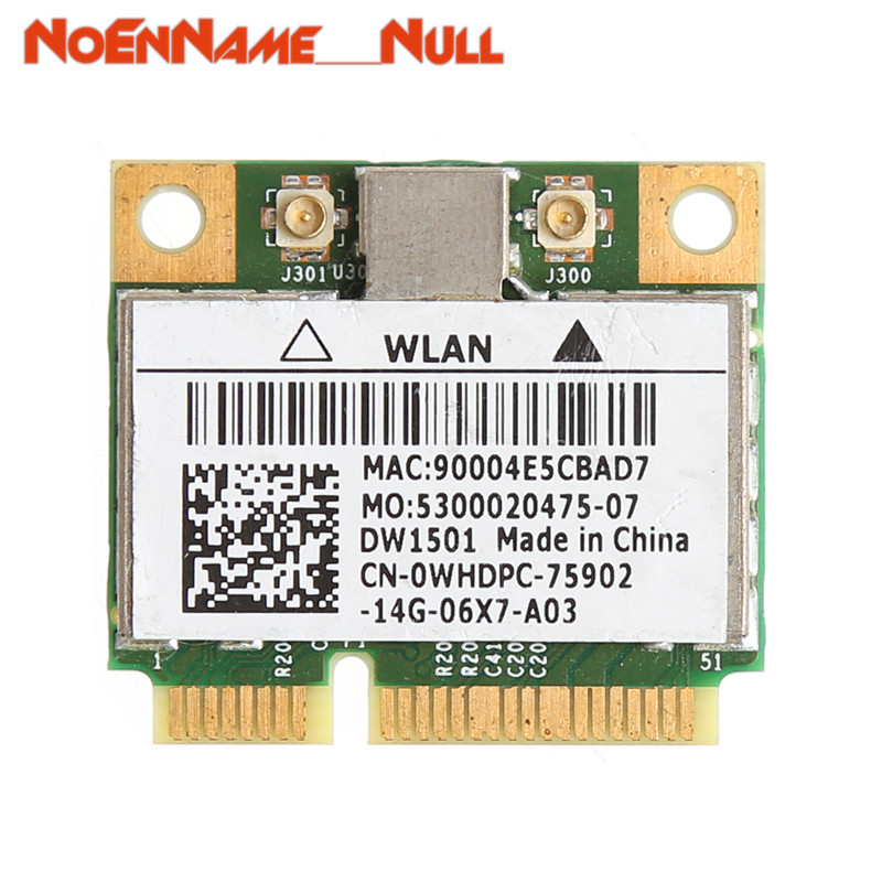Network Card Wifi Adapter 150M Wireless Wifi Mini PCI-E Card For Dell DW1501 0K5Y6D Broadcom BCM94313HMG2L Dropshipping