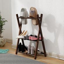 Комнатные тапочки в скандинавском стиле на плоской подошве; креативные домашние тапочки для хранения; простая японская многослойная небольшая полка для обуви