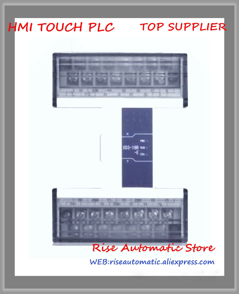 8 NPN input 8 Relay output 2 COM XD3-16RT-E New Original PLC8 NPN input 8 Relay output 2 COM XD3-16RT-E New Original PLC