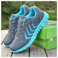 Women Casual Shoes New Arrive Women Shoes Breathable Mesh Zapatillas Flat Shoes
