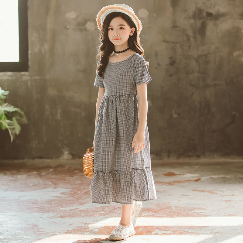 Brand Girls Summer Dress Kids Dresses for Girls 2019 New Cotton Big Bow Children Maxi Dress Baby Princess Dress Ruffles,#3993Brand Girls Summer Dress Kids Dresses for Girls 2019 New Cotton Big Bow Children Maxi Dress Baby Princess Dress Ruffles,#3993
