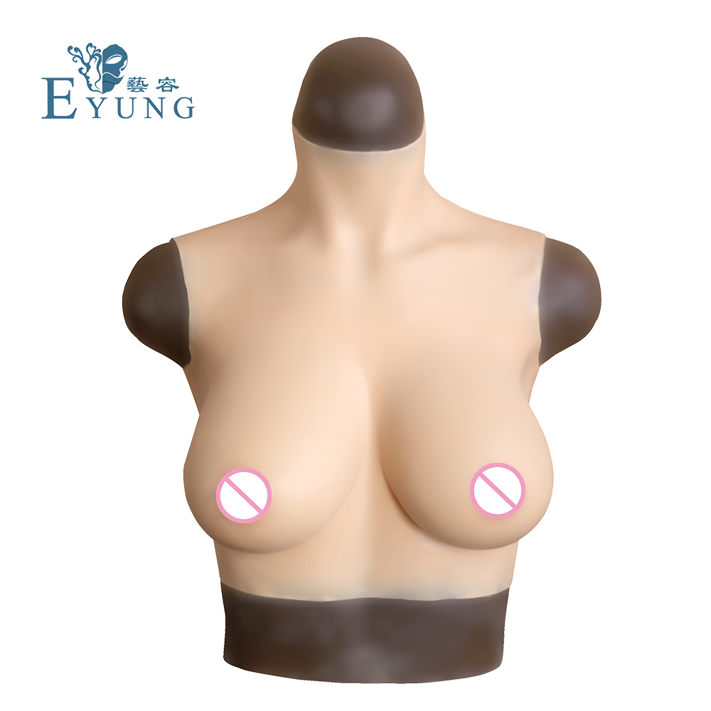 Food grade silicone lifelike breast forms crossdresser cosplay fake boobs Artificial realistic breast for woman Mammectomy tit