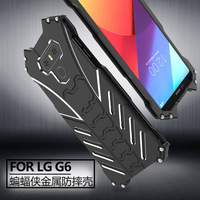 G6 Aluminum Metal Bumper R JUST Shockproof Metal Aluminum BATMAN Cover For LG G 6 LGG6