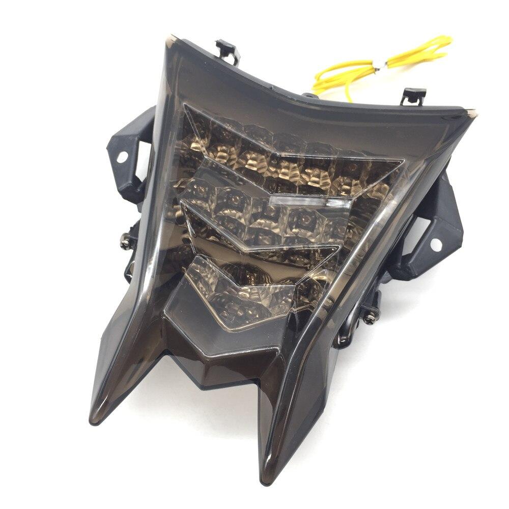 Pour BMW S1000RR S1000R HP4 accessoires moto intégré feu arrière LED clignotant clignotant fumée
