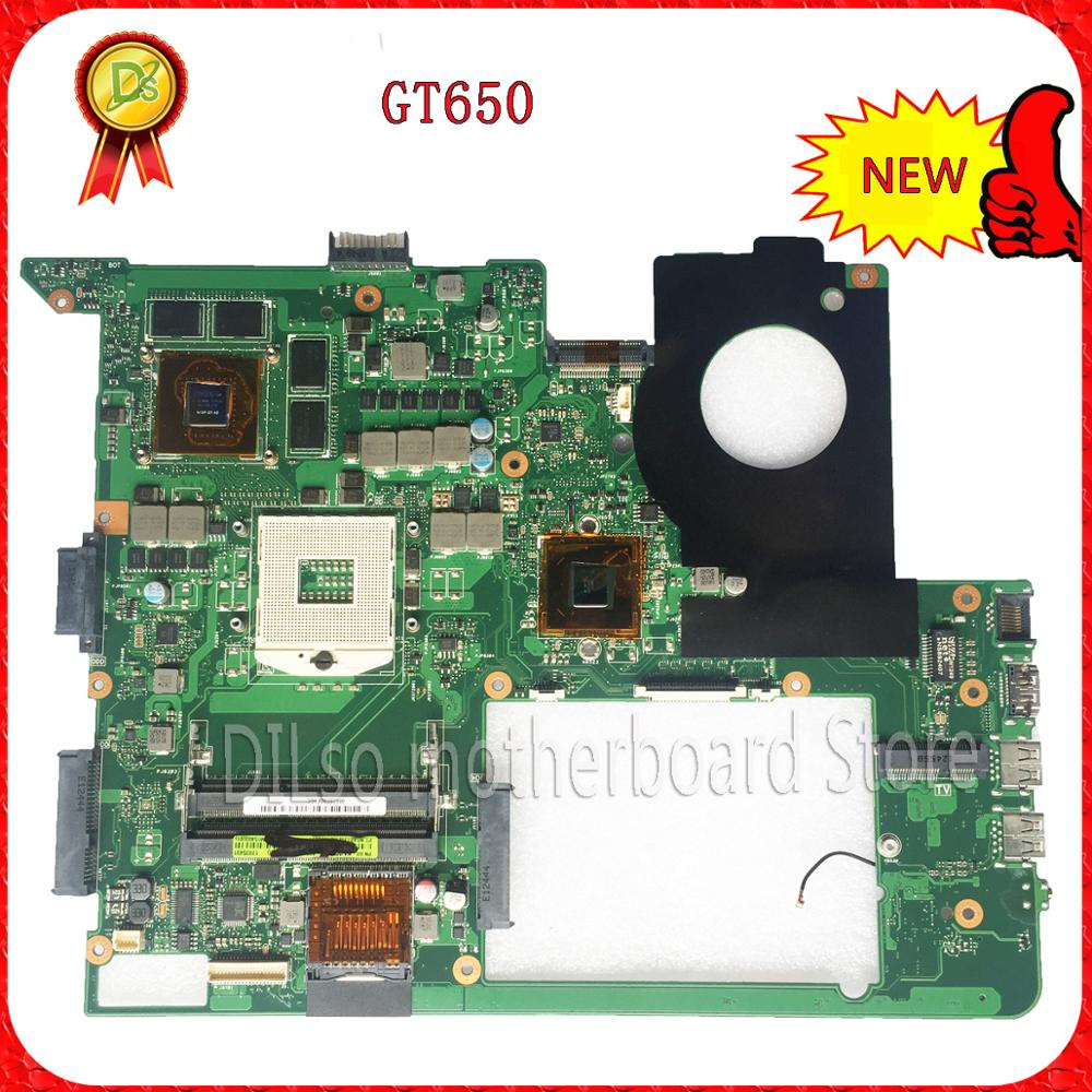 For ASUS N76V N76VM N76VZ Laptop motherboard N76V mainboard REV 2.2 GT650 Non-Integrated 100% tested freeshipping original for asus x550ea x550ep laptop motherboard cpu e1 2100 e1 2500 4gb non integrated mainboard 100% fully tested