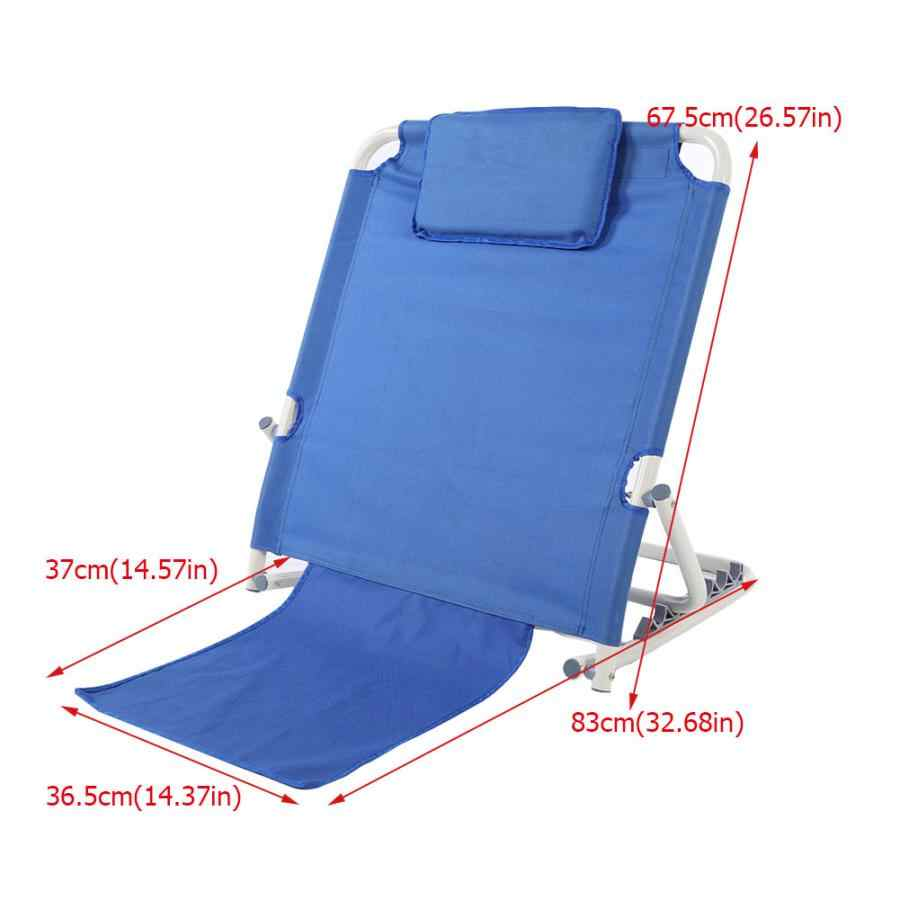 outdoor folding lounge chairs pillow beach patio recliner headrest cushion height adjustable detachable pillowcase