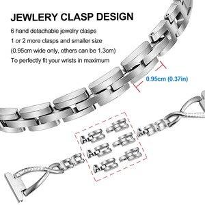 Image 4 - Ze stali nierdzewnej i diament pasek do zegarków 18mm 20mm 22mm dla kopalnego diesla obsługi Timex Armani CK DW zegarek biżuteryjny pasek pasek szybkiego uwalniania
