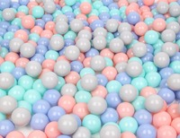 baby toy 200 Pcs/lots Plastic Ocean Ball Eco Friendly Ball Soft Funny Baby Kid Swim Pit Toy Water Pool Ocean Wave Ball