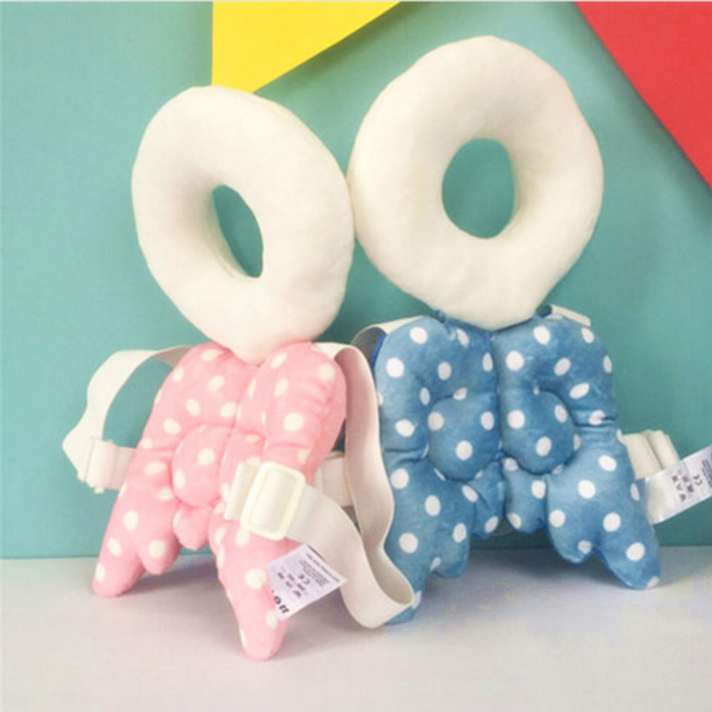 Hot Sale Baby Head Protection Pad Toddler Headrest Pillow Neck Cute Wings Nursing Drop Resistance Cushion Baby Protect