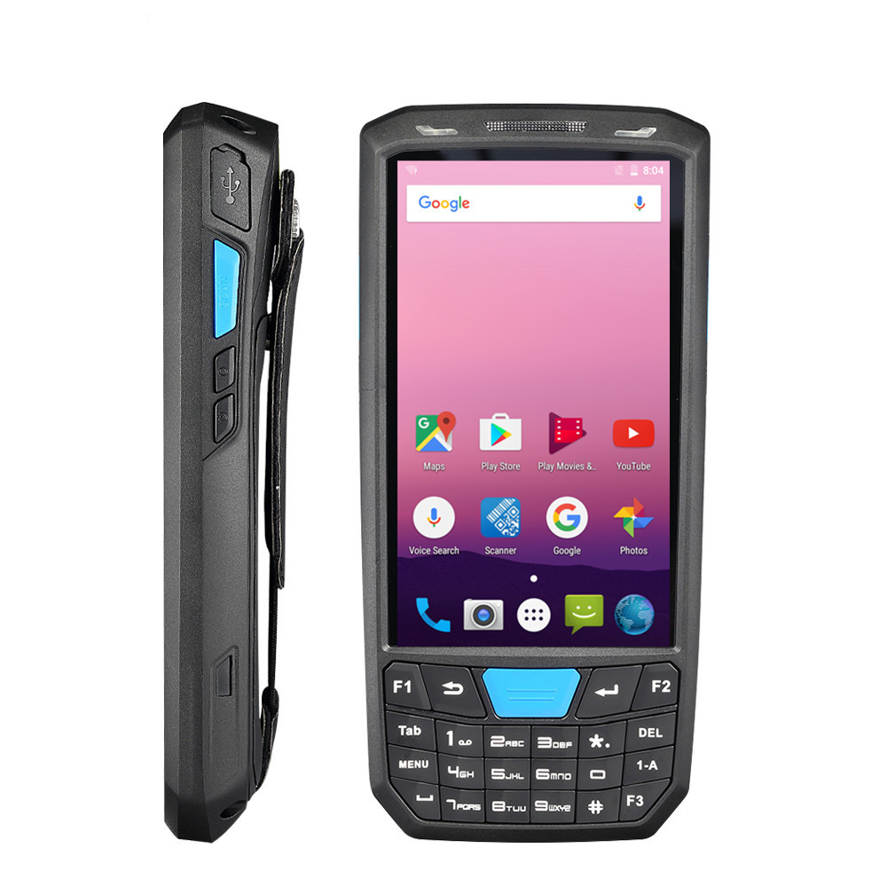 De poche 4G Android 7.0 PDA 1D/2D Honeywell code à barres lecteur 4.5 pouces HD écran tactile POS terminal sans fil wifi bar code reader