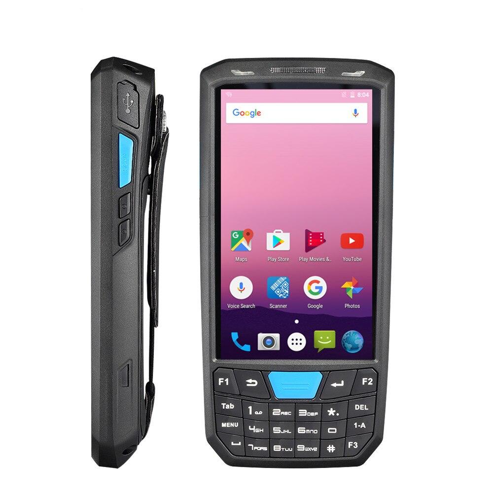 Portatile 4G Android 7.0 PDA 1D/2D Honeywell lettore di codici a barre 4.5 pollici HD touch screen del terminale POS wireless wifi lettore di codice a barre