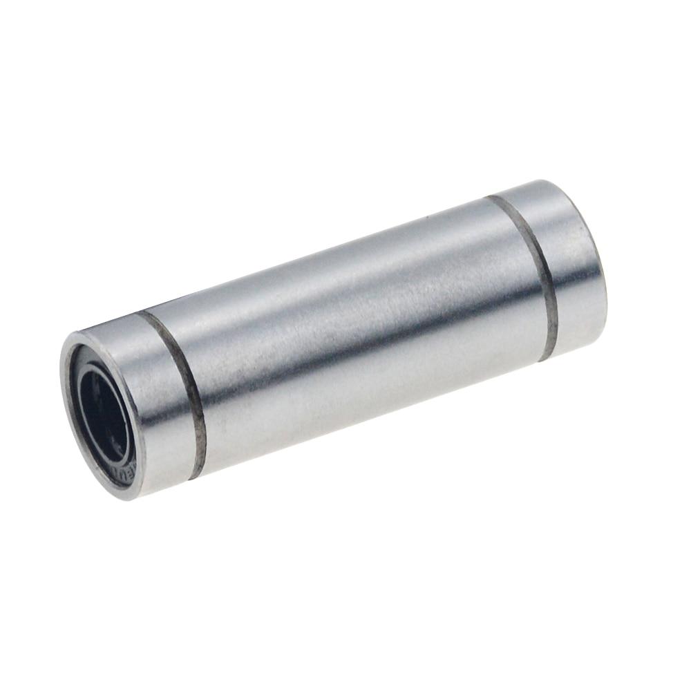 4pcs/lot Free Shipping LM6LUU Long Type 6mm Linear Ball Bearing CNC Parts For 3D Printer