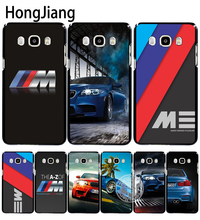 HongJiang luxury bmw M3 photo print cover phone case for Samsung Galaxy J1 J2 J3 J5 J7 MINI ACE 2016 2015