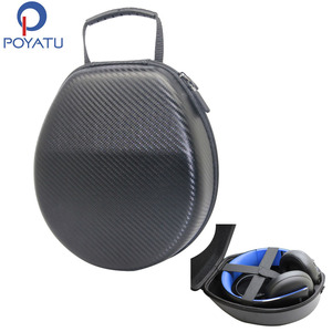 Image 1 - POYATU Portable Full Size Case Bag For SONY Gold Wireless Playstation PS3 PS4 7.1 Virtual Surround Headphones Headset Carry Box