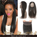 360 Lace Frontal Closure Straight Baby Hair Adjustment Band Unprocessed Virgin Hair Brazilian Straight 360 Lace Frontal