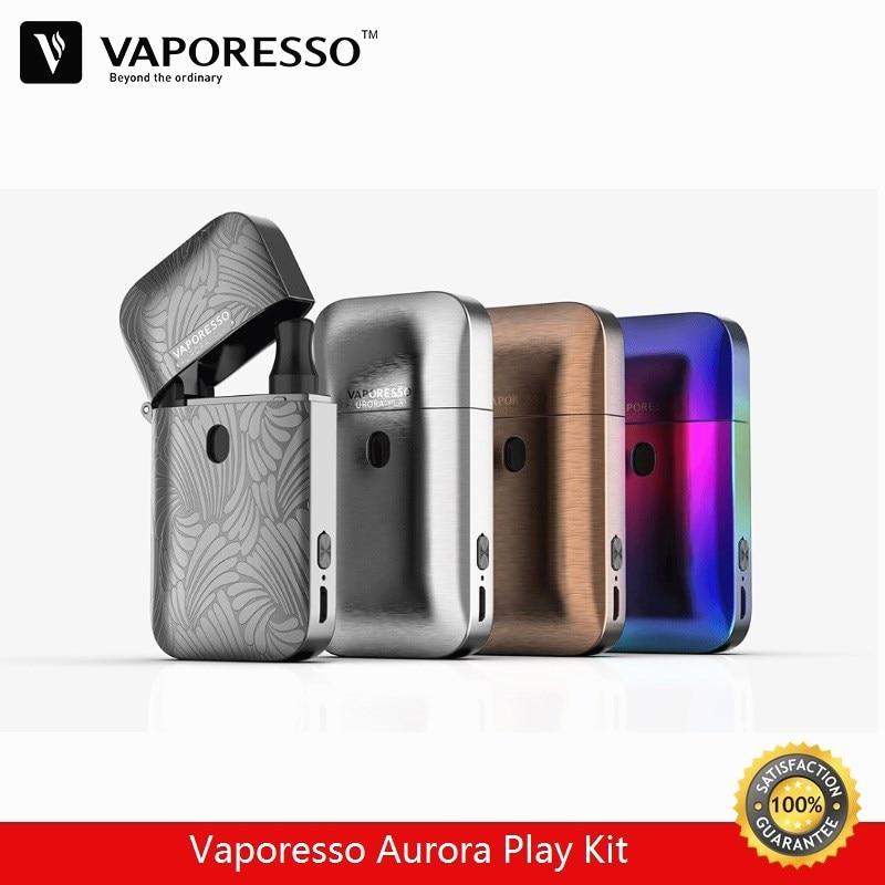 Vaporesso Aurora Jouent Léger Pod Kit 2 ml Vaporisateur Réservoir avec 650 mAh batterie intégrée Vaporisateur E-Cigarette Kit Presse À- remplir Conception