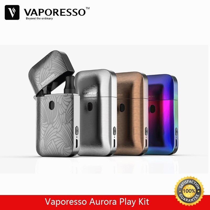 Vaporesso Aurora jeu briquet Pod Kit 2 ml Vape réservoir avec 650 mAh batterie intégrée vaporisateur E-Cigarette Kit presse à remplir conception