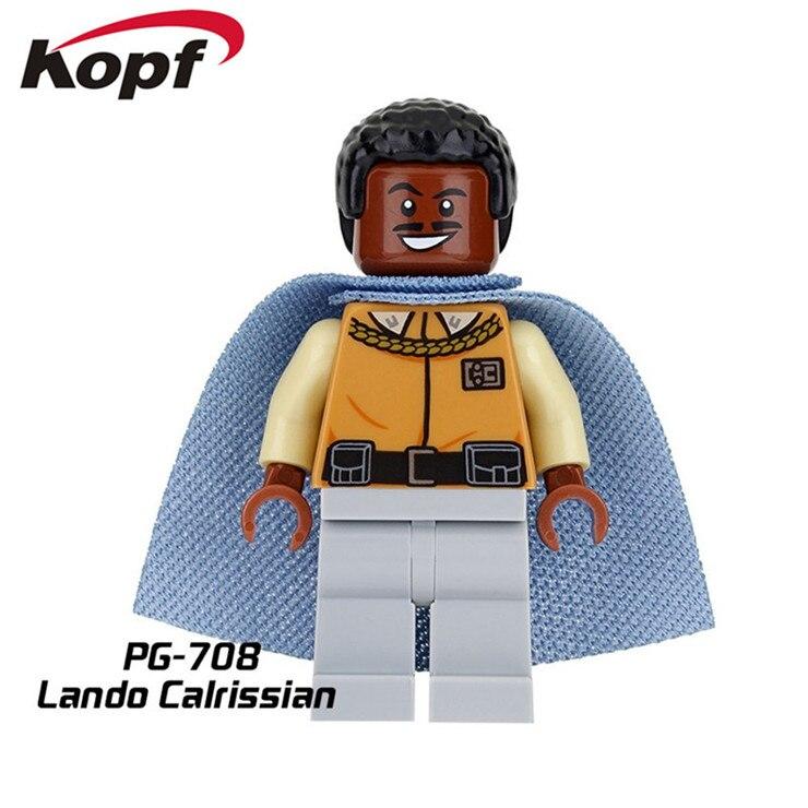 20Pcs PG708 Star Wars Lando Calrissian Grand Admiral Thrawn font b Model b font Bricks Action
