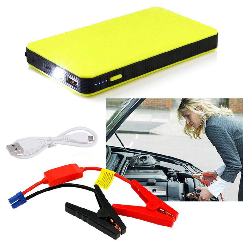 20000mAh Car 12V Auto Engine EPS Emergency Start Battery Source Laptop Portable Charger Utral-thin green super 68800mah car jump starter auto engine eps emergency start battery source laptop portable charger mobile power bank