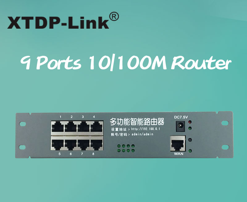 intelligent metal case wired distribution box 8 port router modules ...