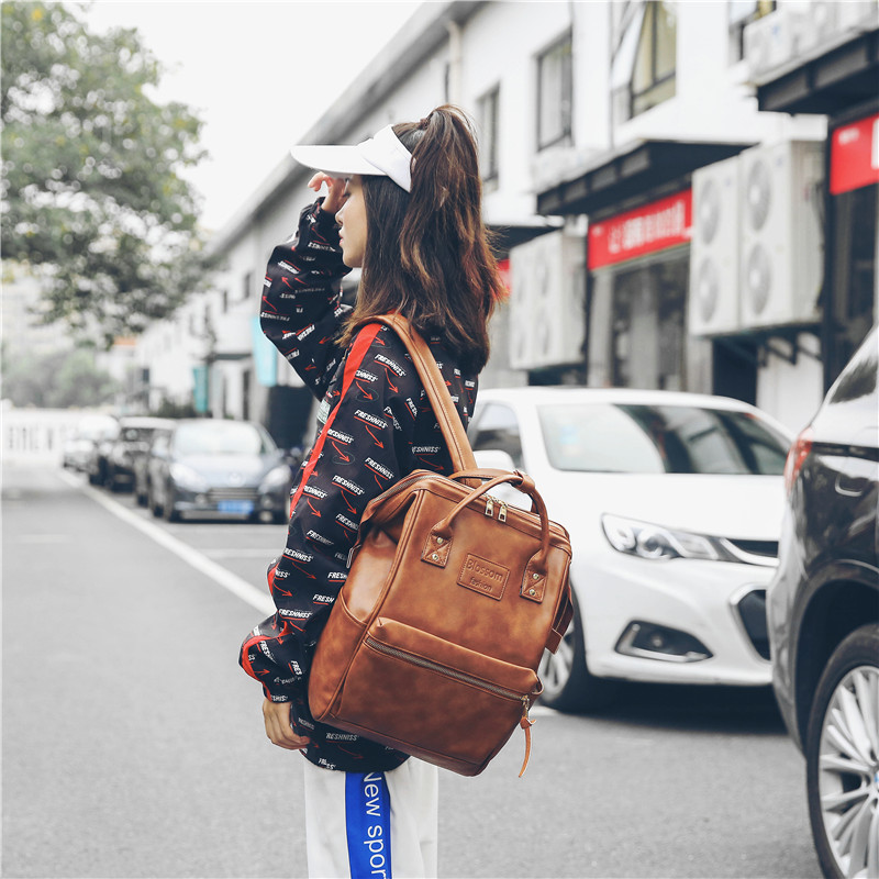 Fashion Multifunction Women Kanken Backpack Youth Korean Style Shoulder Bag Laptop Backpack Schoolbags For Teenager Girls Boys