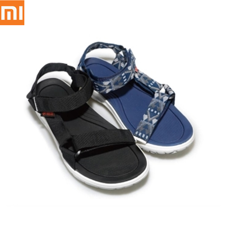 Xiaomi Original Men Magic Belt Sandals Curved Non-slip Wear-Resistant Free Buckle Light Spring Summer Outdoor