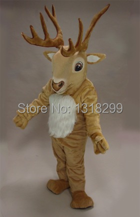 mascot Reindeer moose deer mascot costume fancy dress custom fancy costume cosplay theme mascotte carnival costume kits
