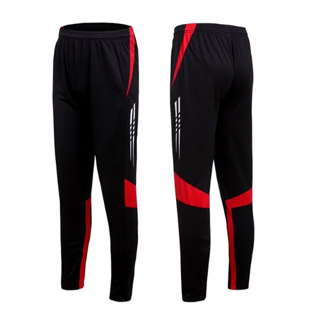 2018 nuevo profesional Pantalones de fútbol Slim skinny Deportes Fútbol  Pantalones de correr chándal Pantalones jogging 85e27c2722a59