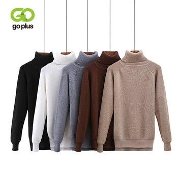 GOPLUS 2020 Fashion Spring Winter Knitted Sweater Women Slim Turtleneck Long sleeve Warm Pullovers Befree Sweater Female Sweater футболка befree befree be031ewadok9