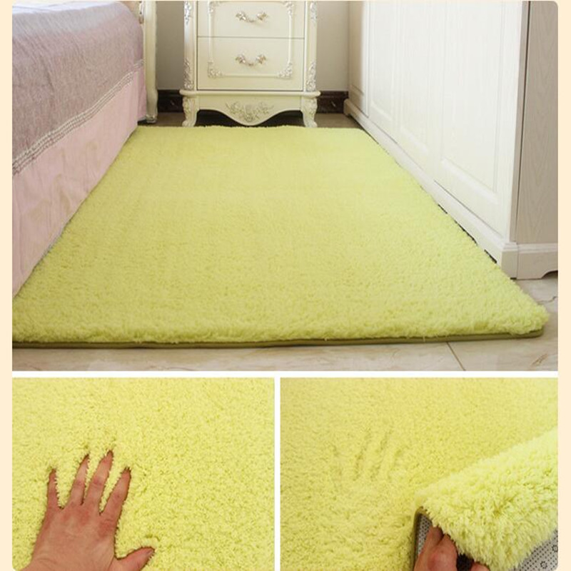 Soft Shaggy Carpet For Living Room Home