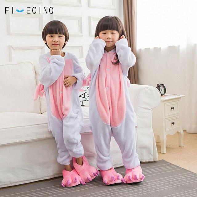 316a4c4d6e Animal Pink Unicorn Cosplay Costume Kids Boy Girl Pajama Cute Onesie Soft  Warm Winter Cold Day