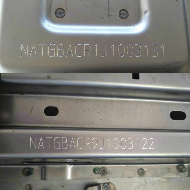 Audi Vehicle Chassis Number Engraving Machine