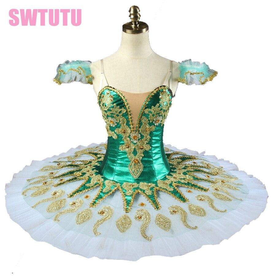 green child and adult  peformance ballet tutu  princess florina  pancake ballet tutu professional ballet stage costume BT9134H