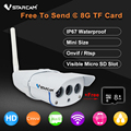 VStarcam C7816WIP Waterproof IP Camera Wireless IR-Cut Support 64G TF Card Wifi Webcam CCTV Outdoor IP Camera Free Send 8GB Card
