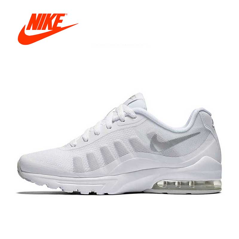 Authentic NIKE AIR MAX INVIGOR Women's Breathable Running Shoes Sneakers цена